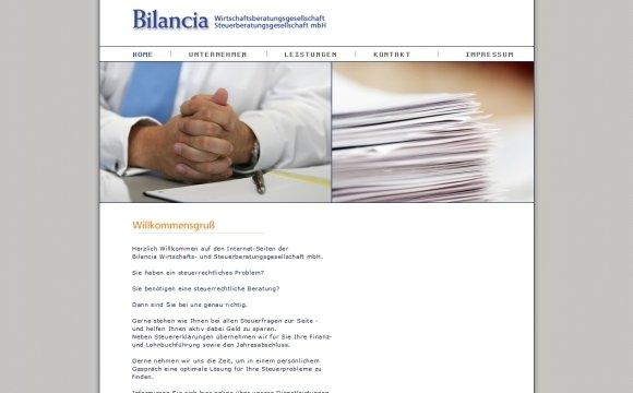 andreas menard webdesign-Bilancia Wirtschafts- und Steuerberatungsgesellschaft