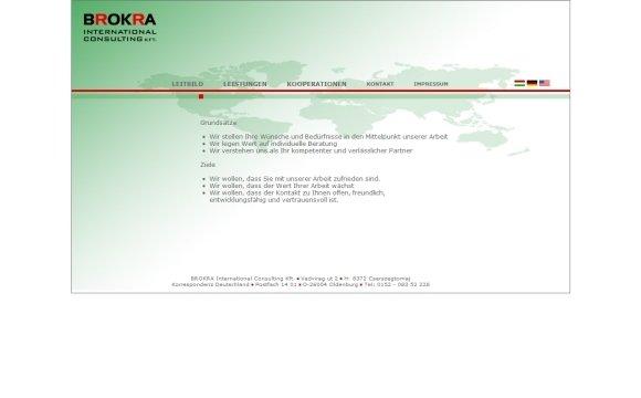 andreas menard webdesign- Brokra.de andreas menard webdesign BROKRA Consulting