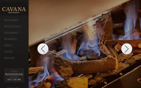 andreas menard webdesign-Cavana Restaurant