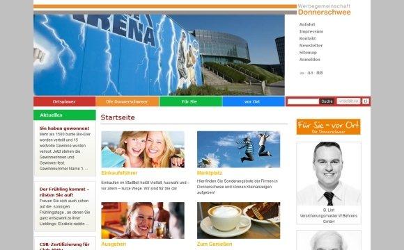 andreas menard webdesign-Werbegemeinschaft Donnerschwee