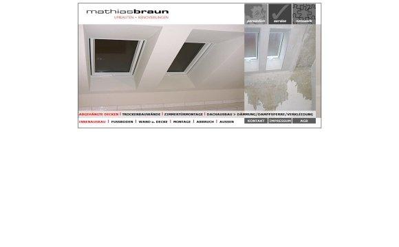 andreas menard webdesign-Braun Umbauten und Renovierungen