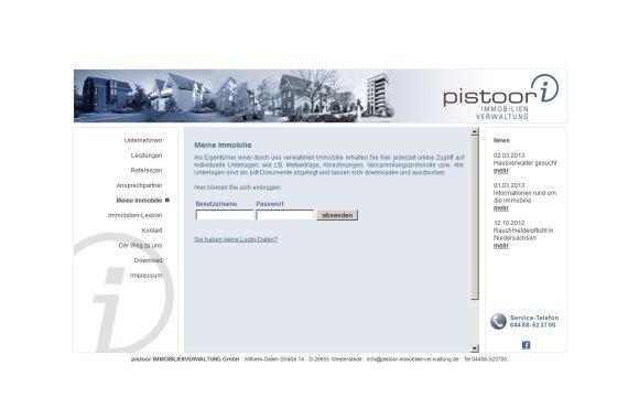 andreas menard webdesign-Pistoor Immobilien
