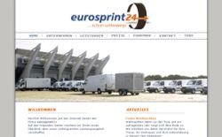 Eurosprint24 Transportunternehmen